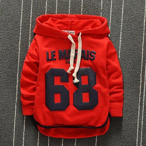 Pre Order Now - Boys Hooded Sweatshirt