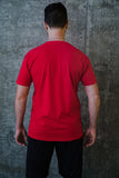 Red Unisex Lace N Loop T-Shirts