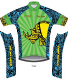 Men's Sunburst Cycling Jersey - Baby Rhino Multisport