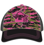 Women's Camo Tiger Technical Trucker Hat - Baby Rhino Multisport
