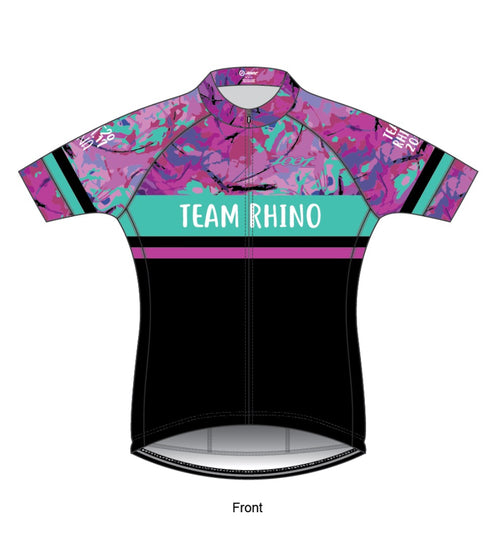 Women's Team Cycling Jersey - Baby Rhino Multisport