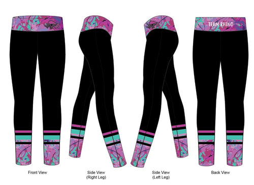 Women's Team Run Tights - Baby Rhino Multisport
