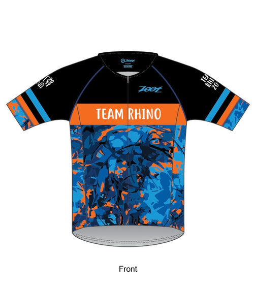 Men's Team Aero 3/4 Sleeve Tri Jersey - Baby Rhino Multisport