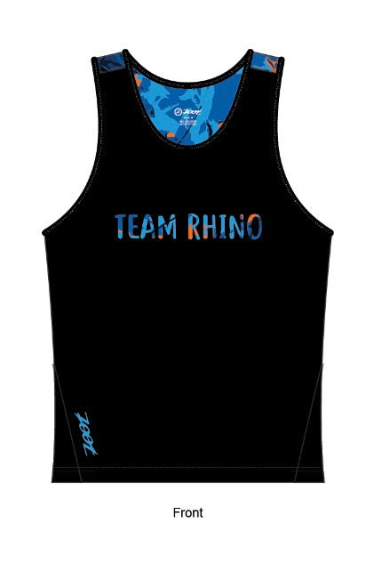 Men's Team Workout & Run Tank - Baby Rhino Multisport