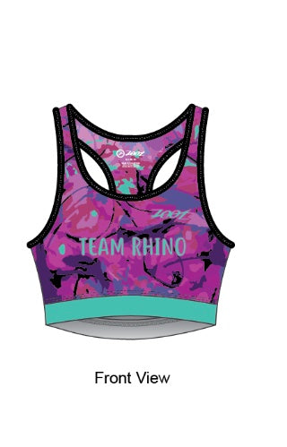 Team Sports Bra - Baby Rhino Multisport