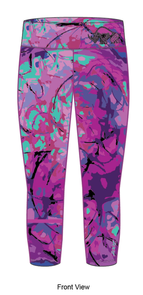 Women's Team Capri Leggings - Baby Rhino Multisport