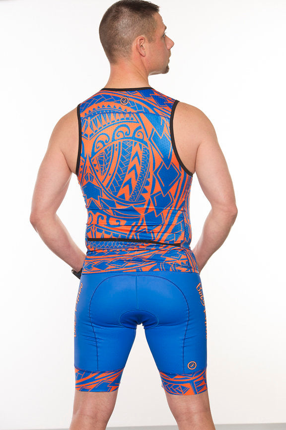 Men's Tribal Tri Shorts - Baby Rhino Multisport