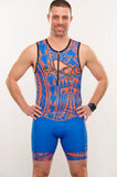 Men's Tribal Tri Tank - Baby Rhino Multisport