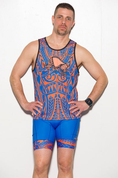 Men's Tribal Run Tank - Baby Rhino Multisport