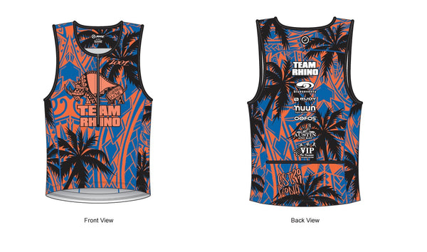 Men's Team Tri Tank - Baby Rhino Multisport