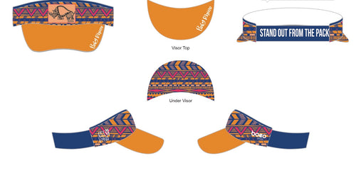Time to Go Tribal Technical Visor - Baby Rhino Multisport