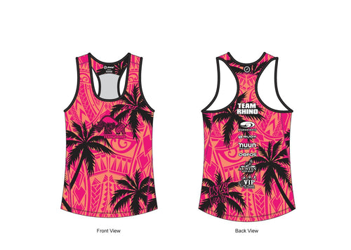Women's Team Workout & Run Tank - Baby Rhino Multisport