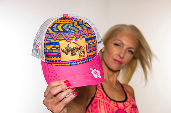 Women's Tribal Technical Trucker Hat - Baby Rhino Multisport