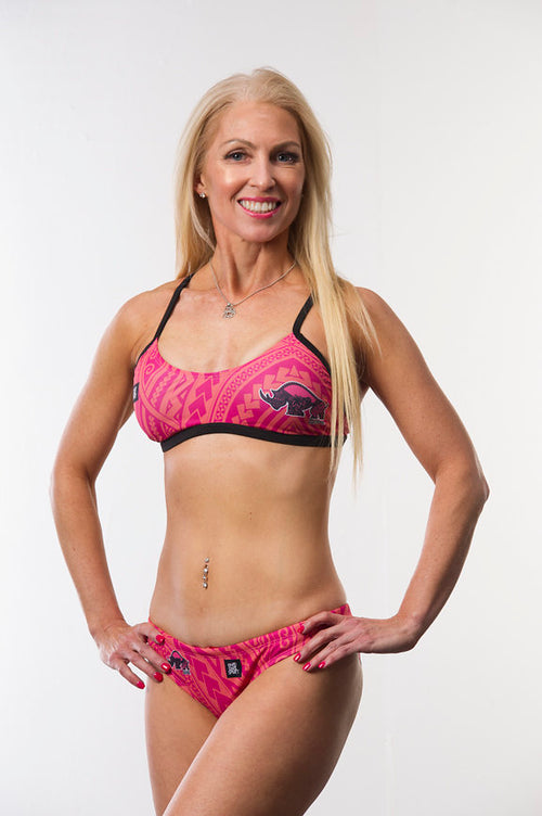 Women's Tribal Bikini Top - Baby Rhino Multisport