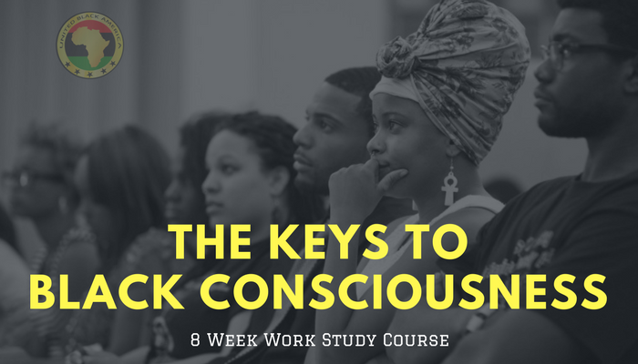 Keys To Black Consciousness Live 8-Week Work Study Course