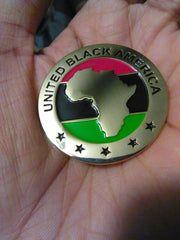 Official United Black America Lapel Pin