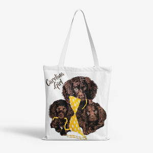 Carolina Girl : Heavy Duty and Strong Natural Canvas Tote Bags