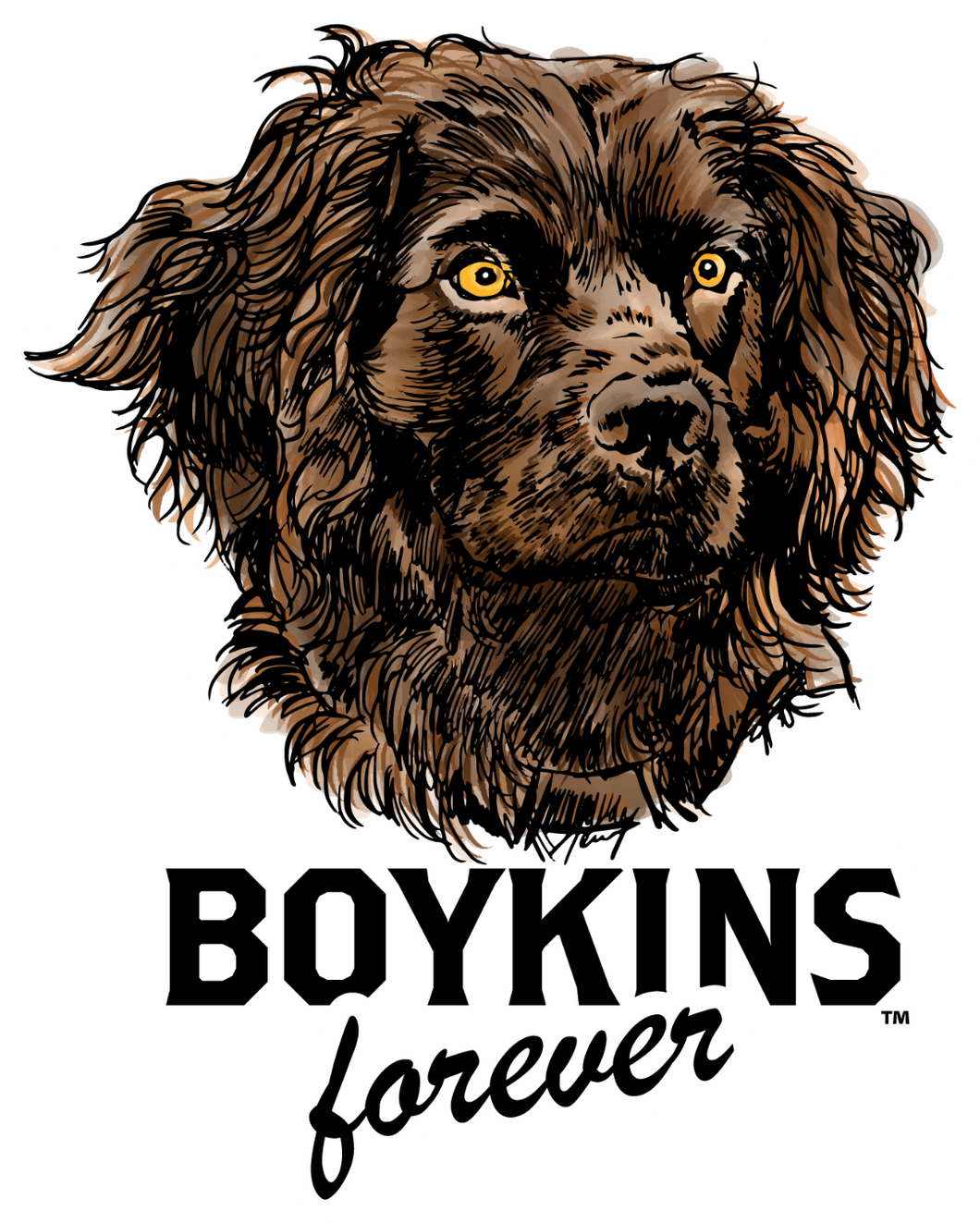 Jager- Full Color,   Boykins Forever cut to shape sticker