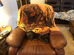 Boykin Spaniel Fleece Blanket