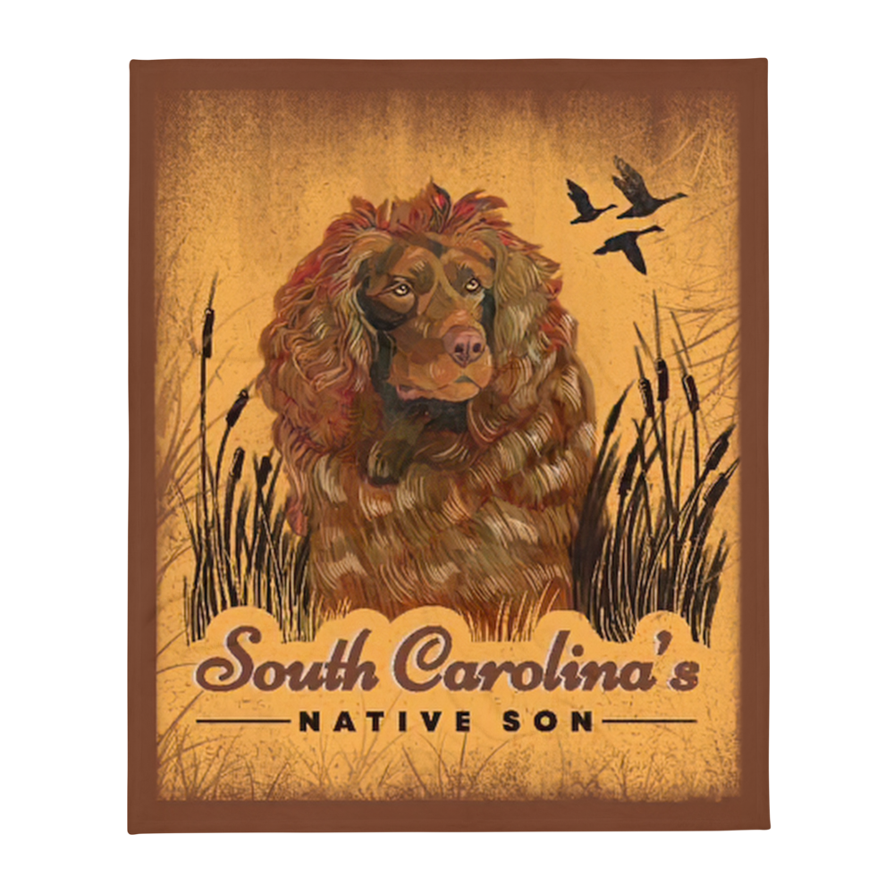 Boykin Spaniel Polyester Throw Blanket