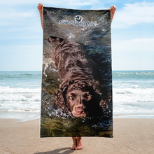 Swamp Poodle Beach Towel