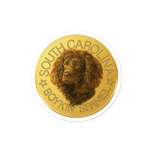 South Carolina State Disc Decal, Full Color