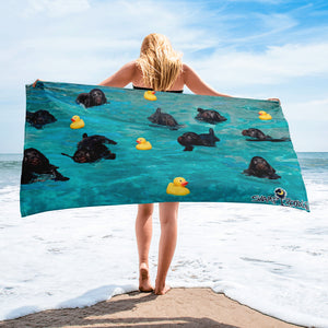 Baby Duckling Beach Towel