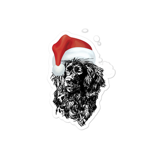 Santa Boykin-Bubble-free stickers