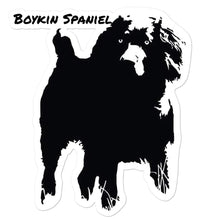 Bokin Spaniel in the Marsh Decal