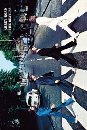 BEATLES ABBEY ROAD - LARGE POSTER