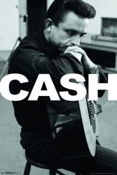 JOHNNY CASH - LARGE POSTER