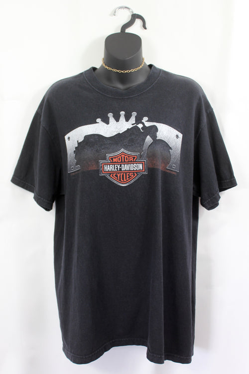 VINTAGE HARLEY NORTH CAROLINA TEE (M/L)