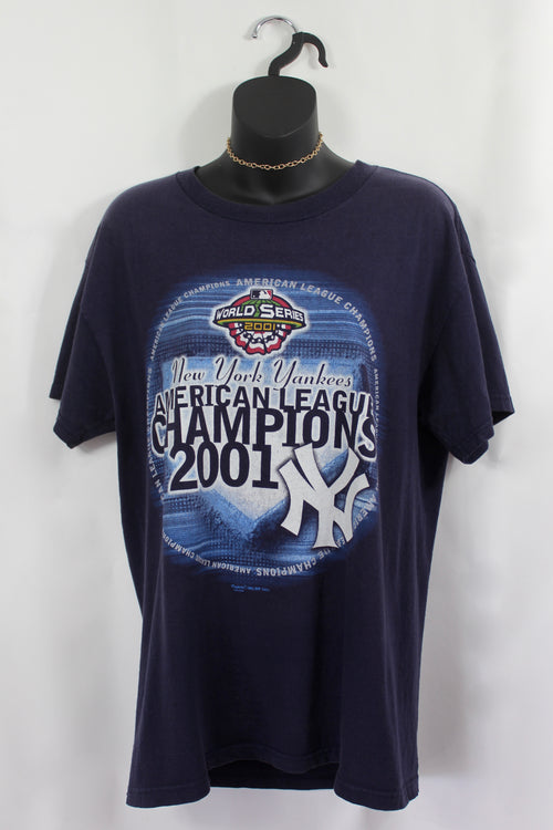 VINTAGE NEW YORK YANKEES TEE (S)