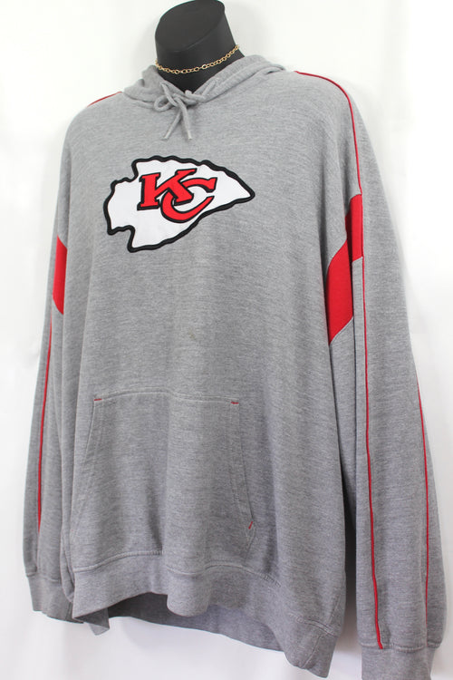 VINTAGE KANSAS CITY CHIEFS HOODIE (XL)