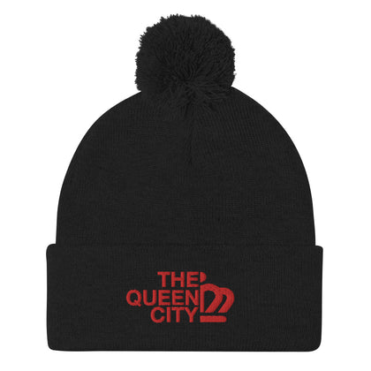 The Queen City Pom-Pom Beanie
