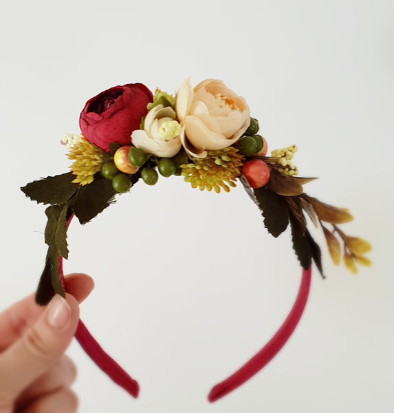 Wild Thing Flower Headband