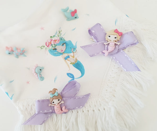 Mermaid Ribbon Bow