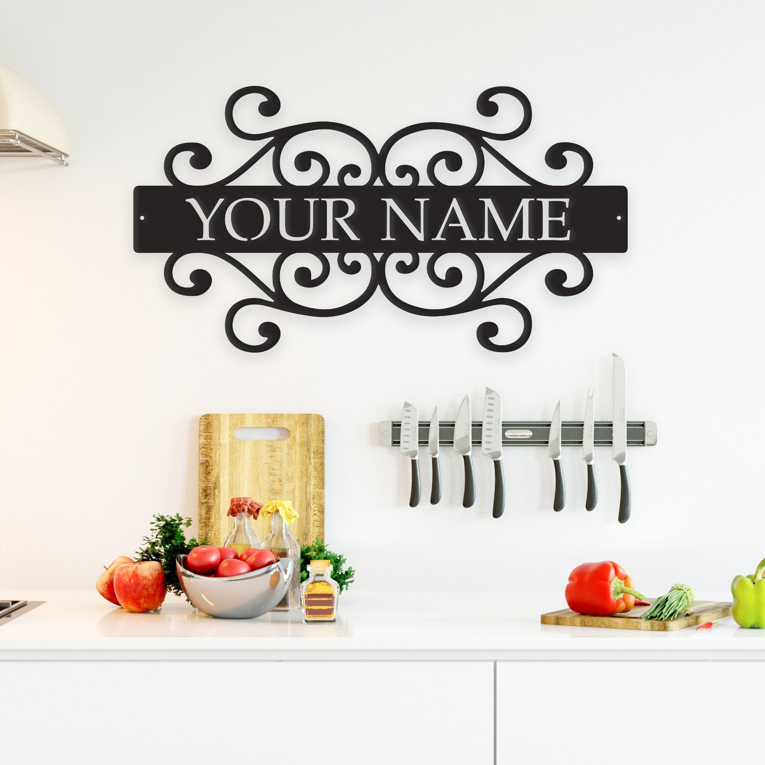 Family Name - Metal Wall Art Decor