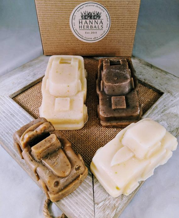 Oatmeal Stout & English Rain Car Soaps