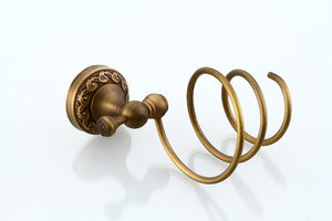 Hair Dryer Holder, Antique Bronze
