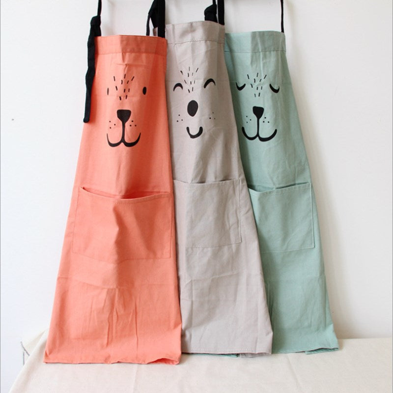 Cute Parent Child Cotton Apron