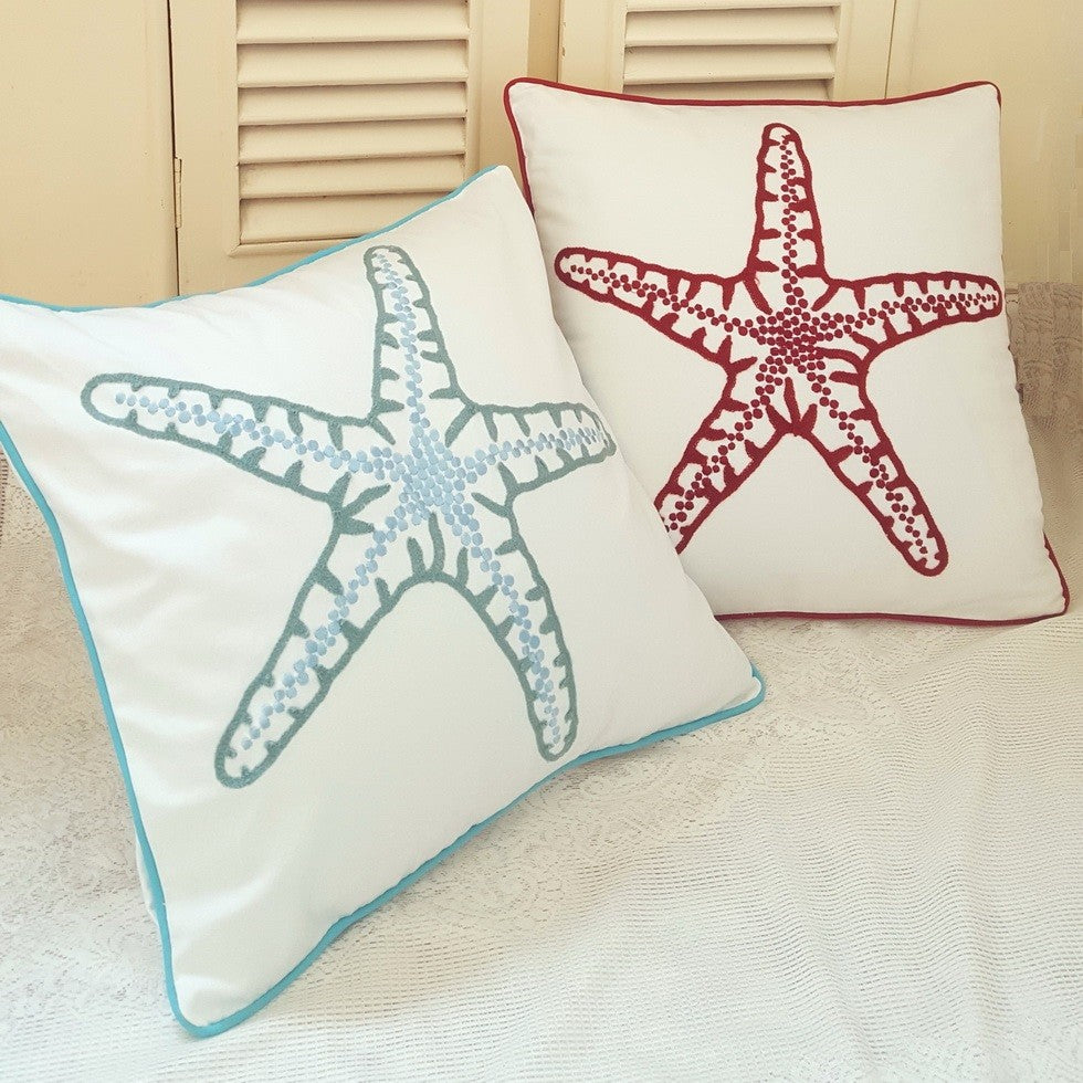 Starfish Throw Pillow Cover, 1PC
