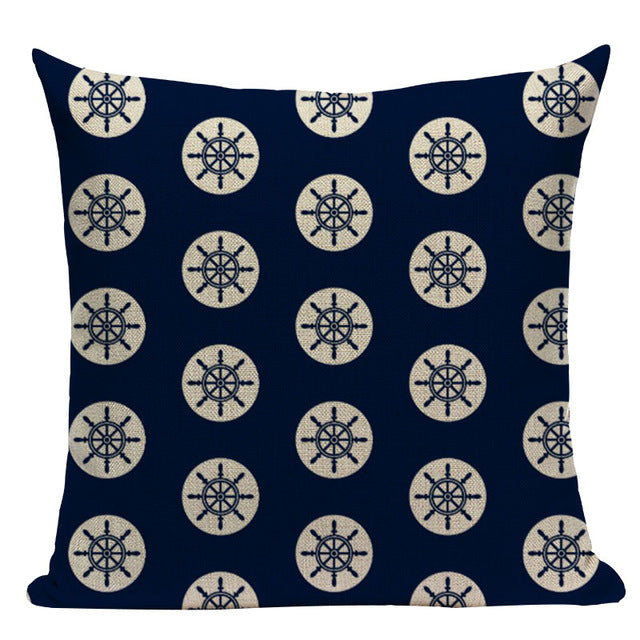 Nautical Inspired Throw Pillow Covers