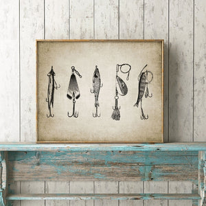 Fishing Lure Canvas Prints