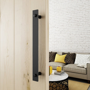 Rustic Black One-side Barn Door Handles