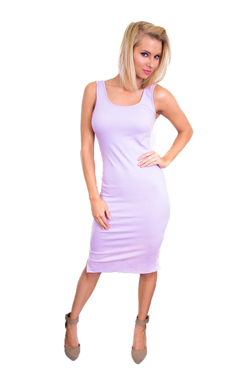 Lavender Tank Dress