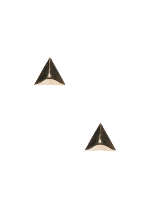 Geometric Gold Statement Studs