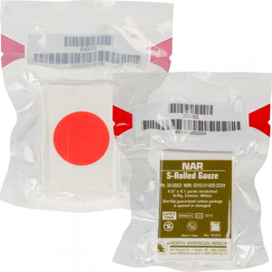 NAR (North American Rescue) S-Rolled Gauze