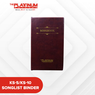 KS-5/KS-10 Songlist Binder