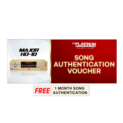 12 Months Song Authentication for Major HD-10